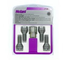 Комплект секретных болтов McGard 27186 SU M12x1,75 (4 болта, ключ 19 мм)
