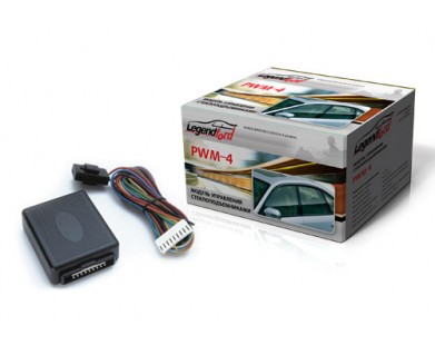 Доводчик на 4 стекла Legendford PWM-4