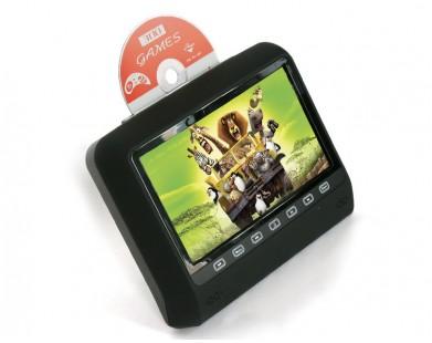 Навесной монитор на подголовник со встроенным DVD плеером ERGO ER9X1D (черный)
