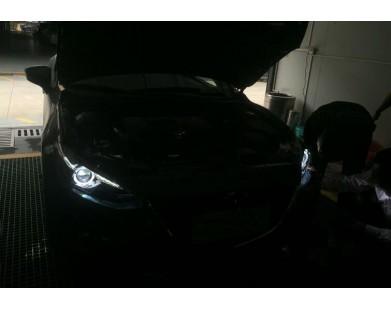 Передние фары V2 LF type для Mazda 3 2013 - 2015 г.в.