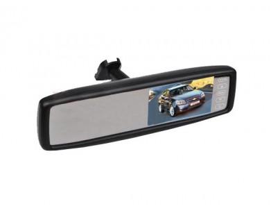 """Зеркало Pleervox PLV-MIR-43STBL заднего вида с монитором 4.3"""" и крепежом для Honda (с Bluetooth)"""