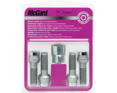 Комплект секретных болтов McGard 28020 SU M14x1,5 (4 болта, ключ 17 мм)