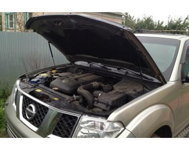 Упоры капота для Nissan Pathfinder R51