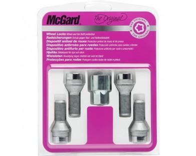 Комплект секретных болтов McGard 27226 SU M14х1,25 (4 болта 50,5 мм, ключ 17 мм)