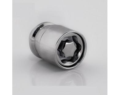Комплект секретных гаек Starleks 726442(33)KK-2Key 1/2-20 (4 гайки 35 мм, 2 ключа 17-19 мм)