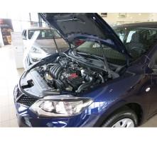 Упоры капота для Nissan Tiida от 2015 г.в.