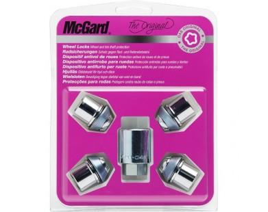 Комплект секретных гаек McGard 24137 SU M12х1,5 (4 гайки 37 мм, ключ 19 мм)