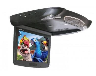Потолочный монитор с DVD (12,1 дюймов, черный) ERGO ER12M