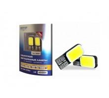 Комплект светодиодных ламп MTF Light W5W/T10 3W (белый свет)