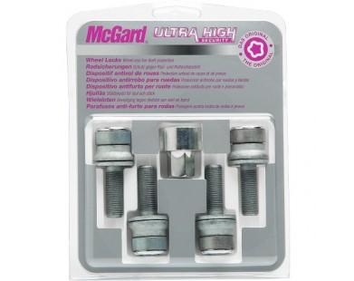 Комплект секретных болтов McGard 26001 SL M12x1,25 (4 болта, ключ 19 мм)