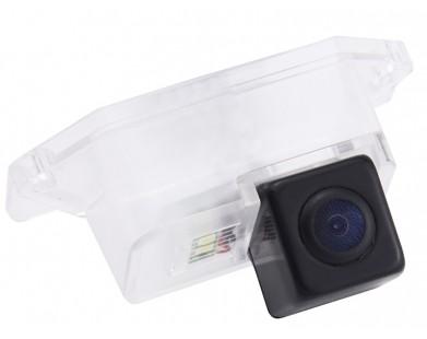 Камера заднего вида с динамической разметкой Pleervox для Mitsubishi Lancer X sedan, Lancer 2001-2006, Outlander 2001-2007