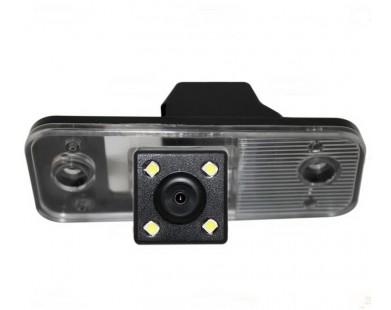 Камера заднего вида для Hyundai Santa Fe New (Silver Star)