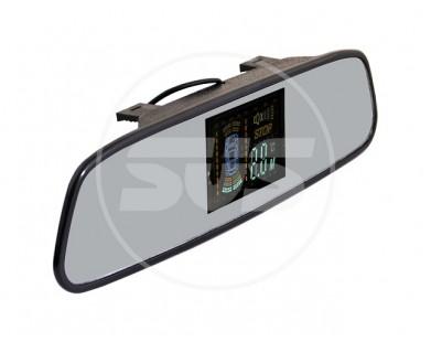 Парктроник Silver Star 038.0065.000 (4 черных датчика) с индикацией на зеркале