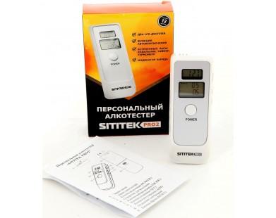 Алкотестер Sititek PRO2 (с часами)