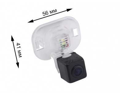 Камера заднего вида Pleervox PLV-CAM-HYN06 для Hyundai Solaris (седан)
