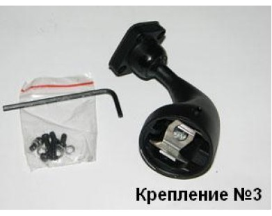 "Зеркало с монитором 3,5"" Redpower M35 с креплением №3"