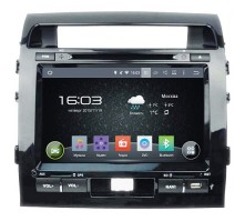 Штатная магнитола Incar AHR-2280 на базе Android для Toyota Land Cruiser 200