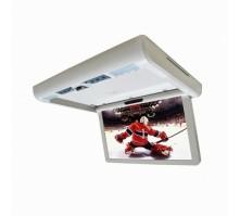 """Потолочный монитор моторизированный XM 1580DBR (серый) 15.6"""" (с DVD)"""