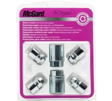 Комплект секретных гаек McGard 34195 SU M12х1,5 (4 гайки, 2 ключа 21 мм)