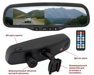 Зеркало-видеорегистратор Incar VDR-FO-47 Full HD