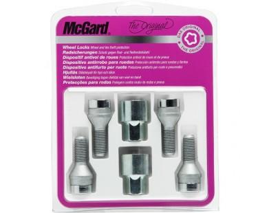 Комплект секретных болтов McGard 37181 SU M14x1,5 (4 болта, 2 ключа 17 мм)