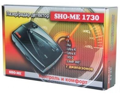 Радар-детектор Sho-Me 1730